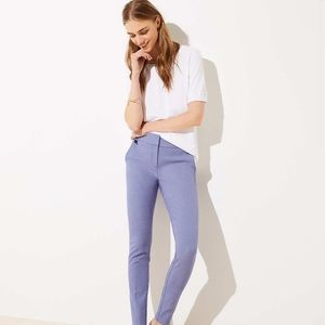 Skinny Houndstooth Ankle Pants in Julie Fit